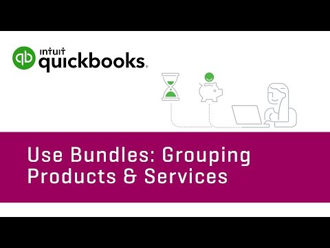 How to use bundles in QuickBooks Online (Tutorial)
