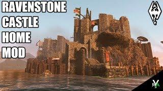 RAVENSTONE CASTLE: Ruin Castle Player Home- Xbox Modded Skyrim Mod Showcase