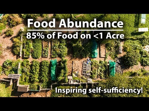 , title : 'Growing 85% of Their Food on UNDER 1 Acre!