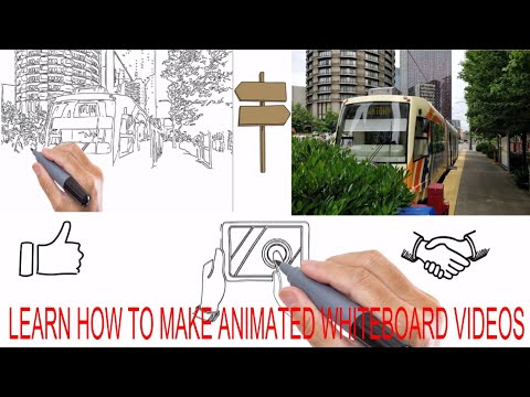 How to make whiteboard animated videos ||Explaindio||
