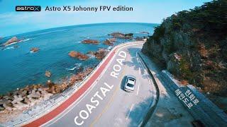 강릉 헌화로 해안도로 Coastal road | Astro X5 Johnny fpv edition drone flight