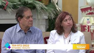 Dynamic Health Patient Terry L Shares His Decision to Try Stem Cell Therapy-Charlotte Today 12/16/19