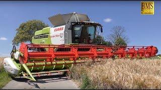 Getreideernte 2017 - Mähdrescher CLAAS LEXION 770 Terra Trac TT - biggest combine harvester harvest