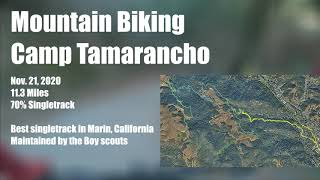 Mountain biking camp tam and trying out the north shore features. Best singletrack in Marin!