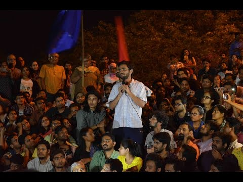 Umar Khalid returns to JNU's Freedom Square - Full Speech | #StandWithJNU