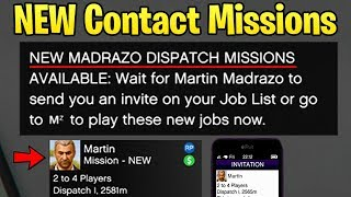 GTA Online: NEW Martin Madrazo 'Dispatch' Missions - How to Make the Most Money