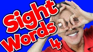New Sight Words 4 | Sight Words Kindergarten | High Frequency Words | Jump Out Words | Jack Hartmann