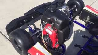 Kid Kart with Honda 50 Engine