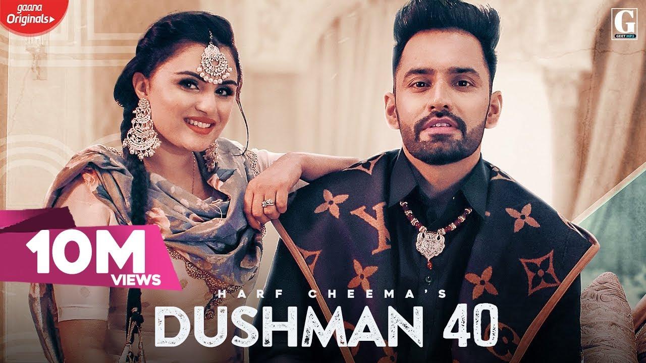 Dushman 40 Lyrics - Harf Cheema - #LyricsBEAT