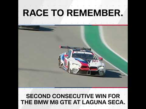 Race to remember: Second consecutive win for the BMW M8 GTE – BMW M Motorsport.
