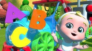El abecedario para niños | abc tren | alfabetos en español | Learn Abc