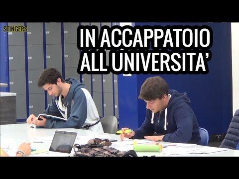 Girare in ACCAPPATOIO per l'università - Prank - Esperimento sociale - Stingers