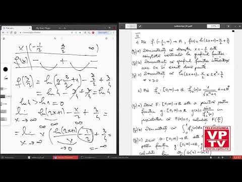 Test matematică pentru pregătirea examenului de bacalaureat