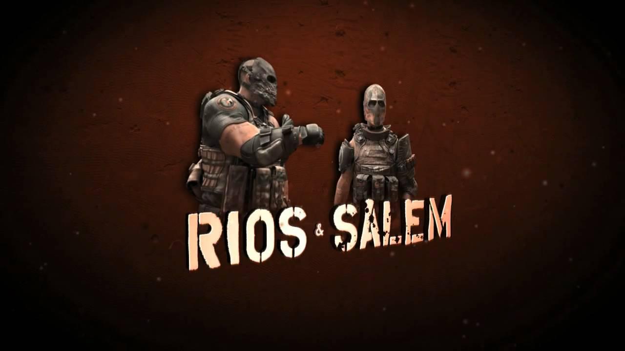 CGI Salem And Rios Hit London