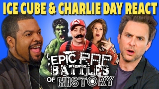 Very cool to have Ice Cube and Charlie Day check out the