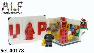 Lego Promotional 40178 Exclusive VIP Set - Lego Speed Build Review