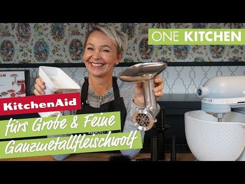 KitchenAid Ganzmetallfleischwolf 5KSMMGA - fürs Grobe und Feine   by One Kitchen