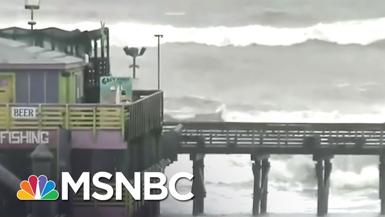 Hurricane Harvey: Winds, Storm Surge Are Immediate Concerns | MSNBC thumbnail