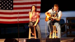"Joey & Rory - ""Free Bird"" - Boone County Fair"