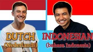Similarities Between Dutch And Indonesian