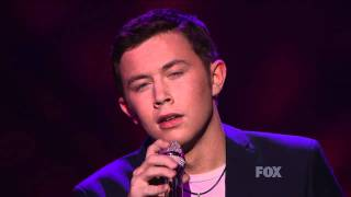 "true HD Scotty McCreery ""She Believes In Me"" Top 3 American Idol 2011 (May 18)"