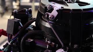 Лодочный мотор Mikatsu M20FHS (навесной мотор) от компании Спорттовары Рыболов - видео
