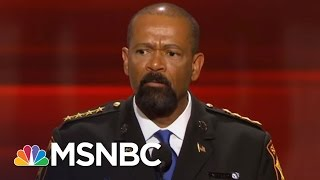 Sheriff David Clarke Allegedly Wears Fake Medals, Plagiarized Thesis   AM Joy   MSNBC