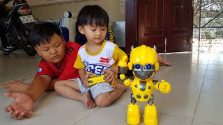 Đồ Chơi Robot Biết Nhảy Múa Dùng Pin Điều Khiển Remote ❤ TinTin TV ❤