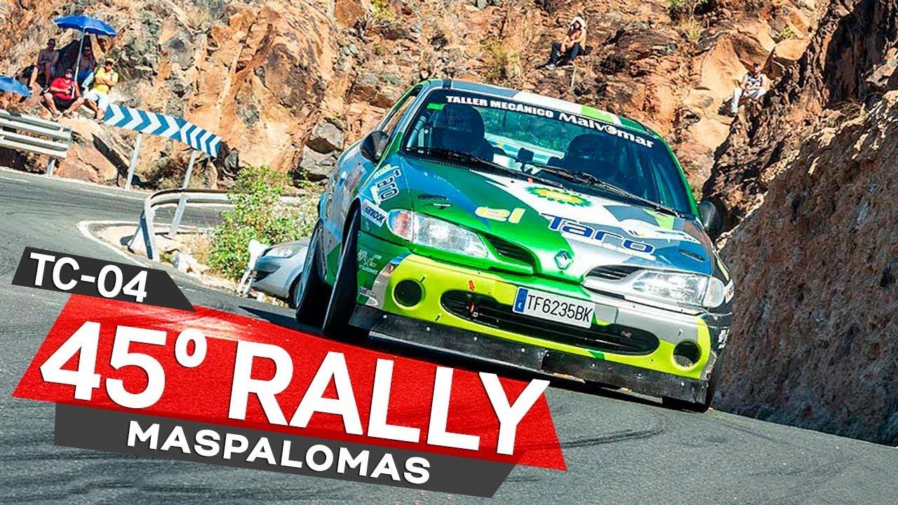 TC 04 Las vallas - Los Cuchillos - 45º Rally de Maspalomas