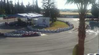 preview picture of video 'Paphos Go Karts May 2012'