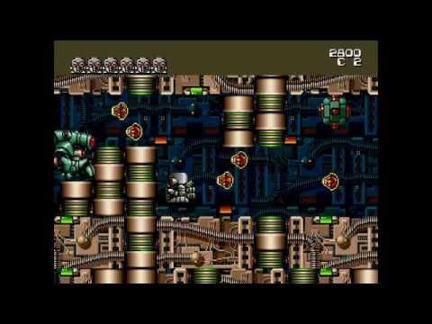 Atomic Robo-Kid Megadrive