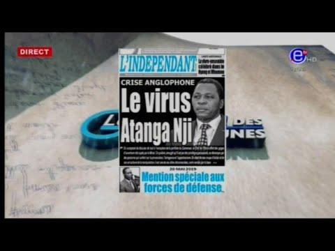 La revue des grandes Unes, Crise Anglophone: Le Virus Atanga Nji