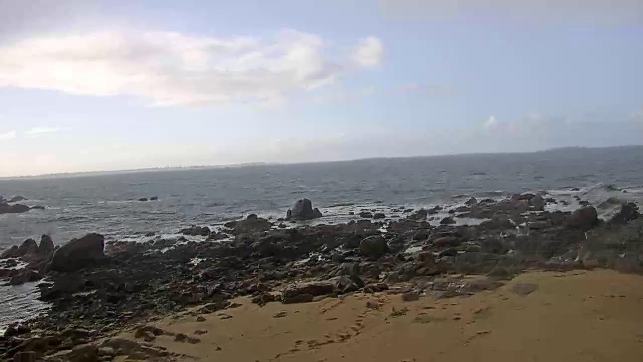 Webcam en bord de plage à Plouescat