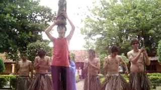 preview picture of video 'Alegoria Virgen de caacupe. parroquia san jose obrero'