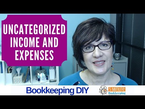 , title : 'How to fix uncategorized income and expenses in QuickBooks Online'