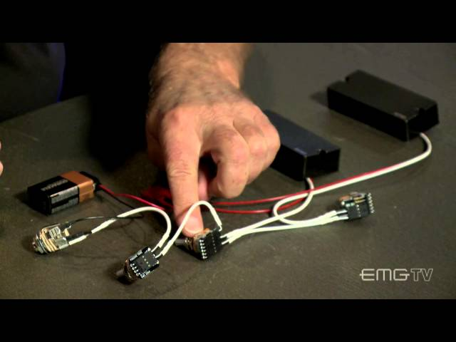 EMG BTC System Active Pickup Input System - Best Bass Gear