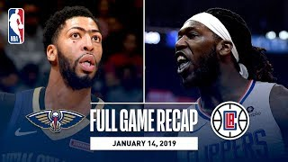 Full Game Recap: Pelicans vs Clippers | Anthony Davis Records 46 Points & 16 Rebounds