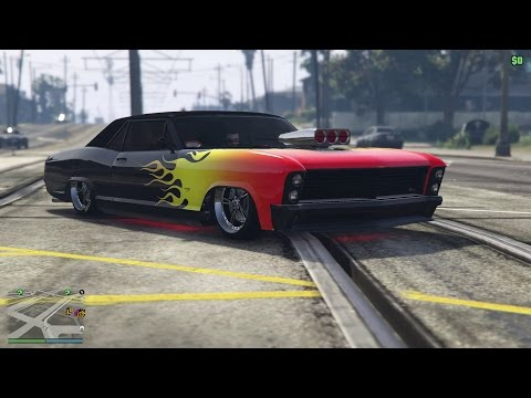 Ep43 A New Diablo Styled Albany Buccaneer Customized Lowrider! - Let's Play GTA 5 PC Online 1080p HD