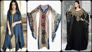 Beautiful Long Sleeves And Kaftan Dress Design Ideas/Trendy Dresses 2019