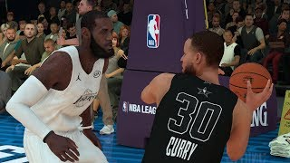 NBA 2K19 NBA All Star Game Team Lebron vs Team Stephen Full Game – NBA 2K19 Gameplay