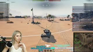 ???? WOT и Лена девушка танкистка, играет по фану в World of Tanks. ????
