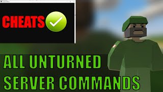 ALL VANILLA UNTURNED SERVER COMMANDS | UNTURNED CONFIG |HOW TO CUSTOMIZE YOUR UNTURNED SERVER PART 1