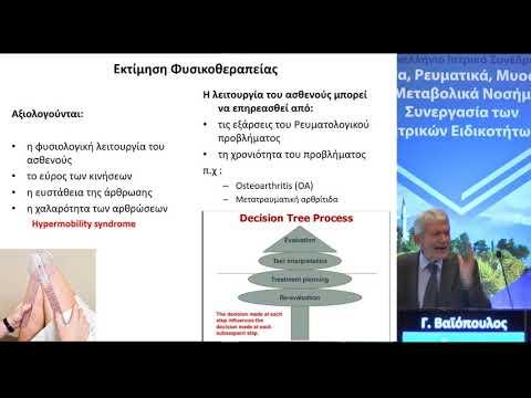 Γ. Βαϊόπουλος - Πρωτόκολλα θεραπευτικής άσκησης στις αρθρίτιδες