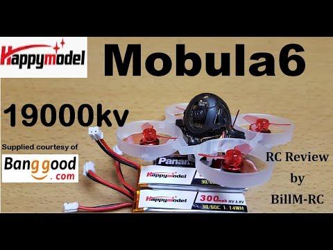 Mobula6 review - Test on indoor racetrack
