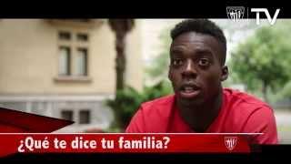 Entrevista/Elkarrizketa:  Iñaki Williams