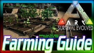 """How to Farm in ARK: Beginners Guide #3"" (ARK: Survival Evolved) Farming Berries!"
