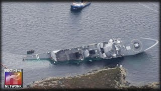Fast-Thinking Captain Saves 5,000-Ton Frigate with Unorthodox Grounding Order