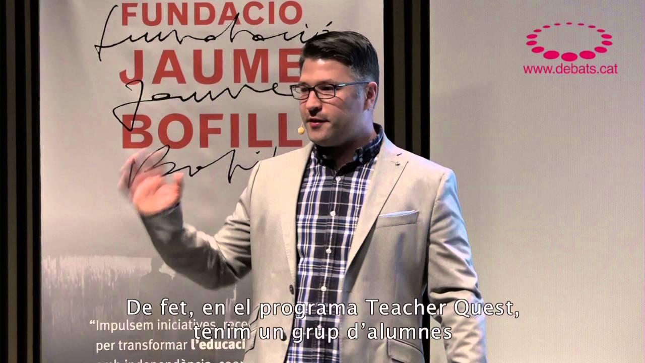 Ross Flatt - Revolucionar l'escola des del design thinking i el joc. (resum)