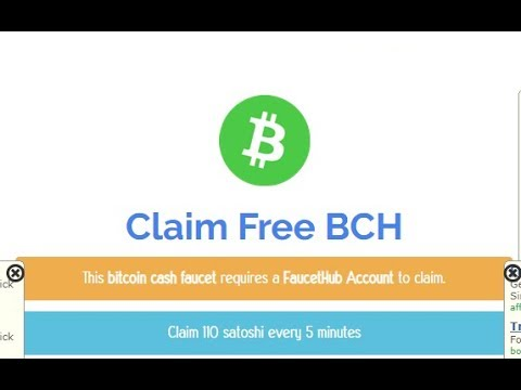 per day 140000 BCH satoshi earn easily withdraw to faucethub