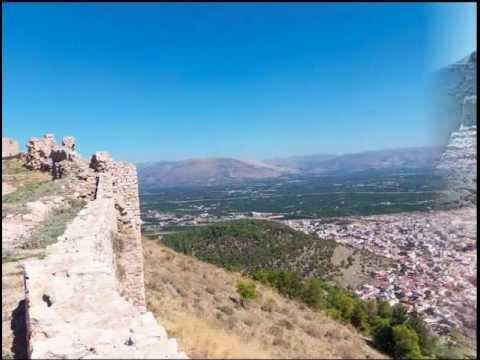 Город Аргос Крепость Лариса, Греция
